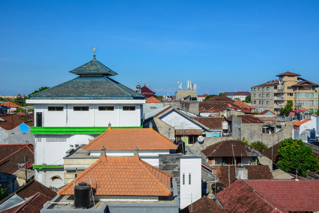Bali, Indonesia - Apr 19, 2016. Cityscape of Bali, Indonesia. Bali is a popular tourist destination which has seen a significant rise since the 1980s.