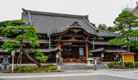 2015年7月18日、東京、東京の尖閣寺。尖閣寺は、古い「東京都」の三大寺院の一つであった。