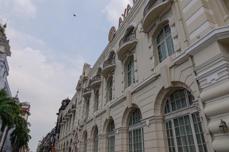 Yangon, Myanmar - Feb 26, 2016. Old buildings in Yangon, Myanmar. Yangon has the highest number of colonial era buildings of all South East Asia. Sajtókép