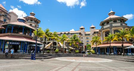 Port Louis, Mauritius - 4 Jan 2017. Stadsgezicht van Port Louis, Mauritius. Port Louis is het economische, culturele en politieke centrum van het land. Redactioneel