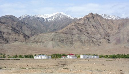 Mountainscape of Ladakh, North of India. Ladakh is renowned for its remote mountain beauty and culture.