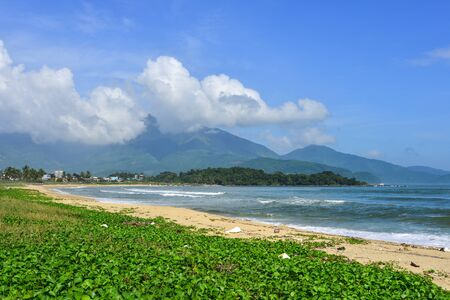 Beautiful sea at sunny day in Da Nang, Vietnam. Stock fotó