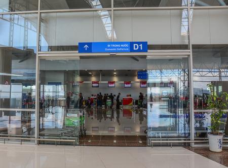 Dalat, Vietnam - Jan 25, 2016. Interior of Lien Khuong Airport in Dalat, Vietnam. Dalat is located in the South Central Highlands of Vietnam. Sajtókép