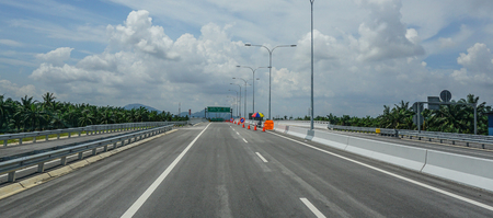 Penang, Malaysia - Aug 21, 2014. Highway in Penang, Malaysia. Penang is the top destination within Malaysia for foreign investors. Редакционное