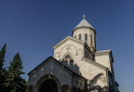 Ancient Eastern Orthodox Church in Tbilisi, Georgia. Tbilisi is Georgia ancient and vibrant capital city spreads out on both banks of the Mtkvari River.