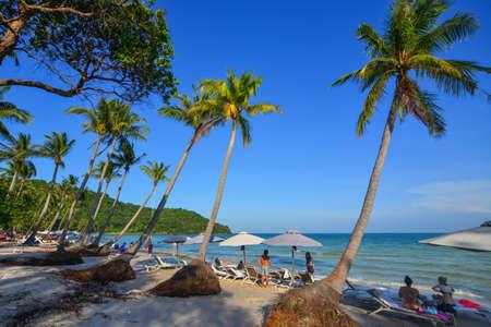 Phu Quoc, Vietnam - Dec 7, 2017. Beautiful seascape of Phu Quoc Island, Vietnam. Phu Quoc is one of the island paradises in Southeast Asia.