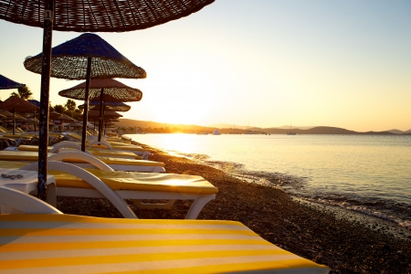Lovely looking beach Stock Photo