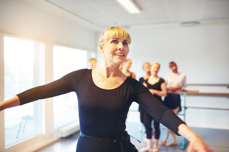 Mature women dance