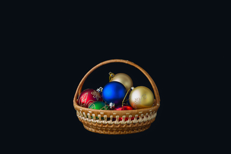 Hình ảnh Của Quả Bóng Giáng Sinh Màu đỏ Vàng Xanh Lá Cây