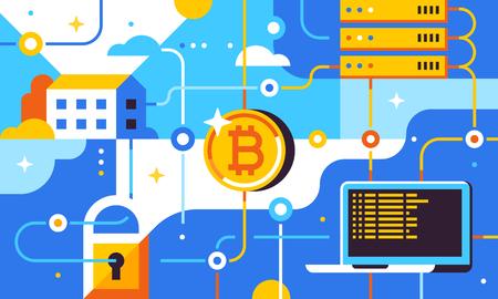 Blockchain and bitcoin mining technologies .