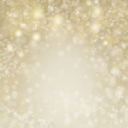 Gold and silver background and bokeh in New Year eve and copy space. Abstract background holiday. Merry christmas and happy new year.
