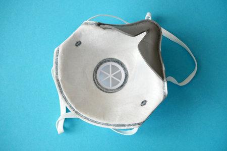 respirator with high protection level.  macro, closeup