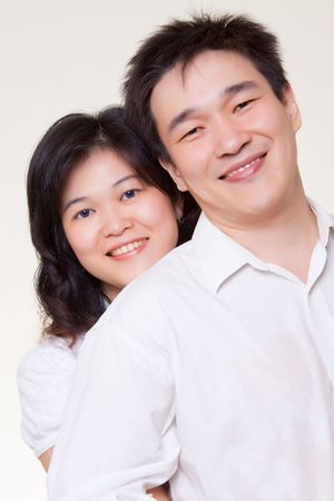 Asian Couple photo