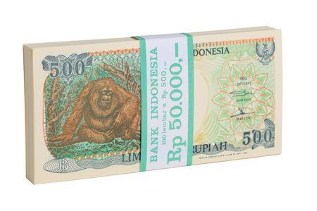 インドネシアの通貨 写真素材