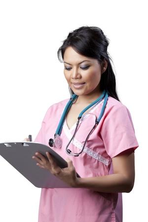 asian nurse: Asian nurse Stock Photo