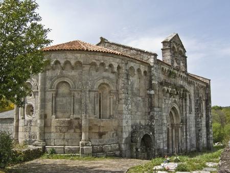 Romanesque Church of San Pedro de Vilanova de Dozón - Pontevedra Romanesque church built in 1154. He was part of a monastery of Benedictine nuns. It is a single nave with a rectangular plan and semicircular apse.