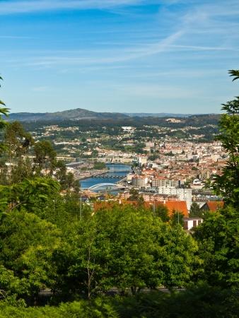 galicia: Pontevedra city and Lerez river