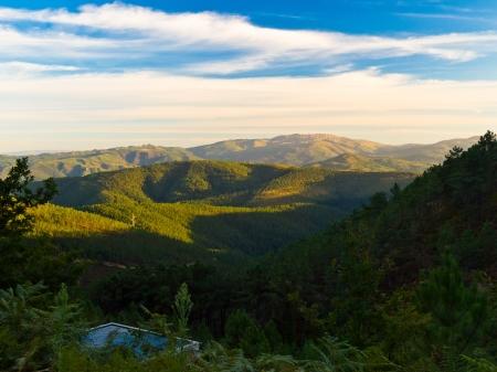 galicia: Serra do Suido in Beariz  Interior of Galicia