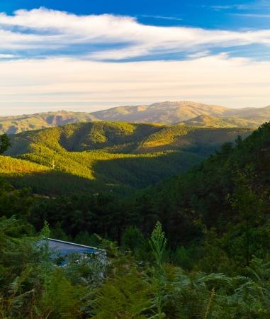 Serra do Suido in Beariz  Interior of Galicia