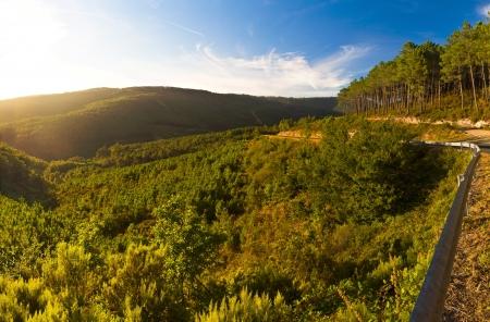 galicia: Serra do Suido in Galicia Spain