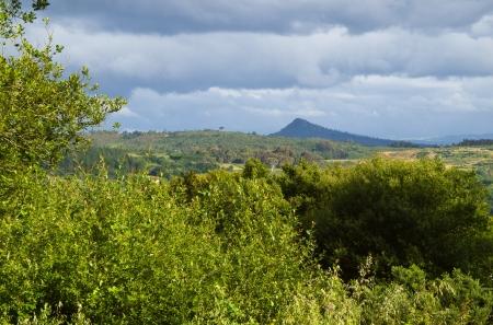 galicia: Pico Sacro from Santiago de Compostela
