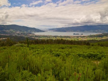 galizia: Ria de Vigo da Redondela Rias Baixas della Galizia