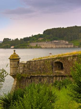 Fort of San Antón and La Palma in Ferrol