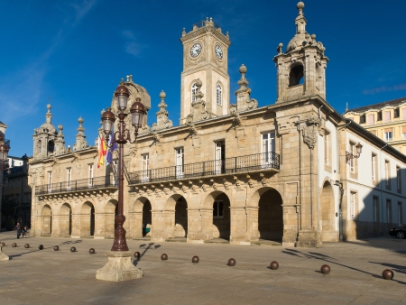 Baroque town hall in Lugo