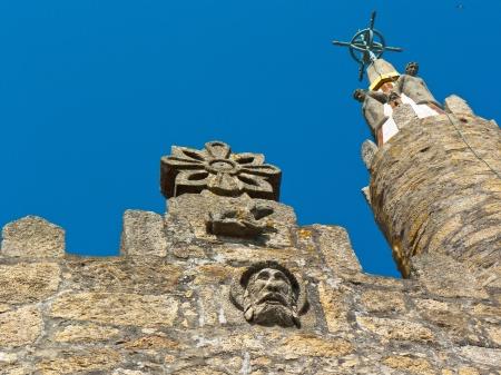 galicia: Votive Temple of the sea  Panxon near Vigo