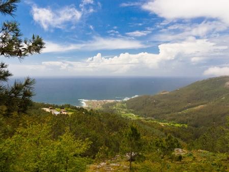 galicia: Oia coast in Rias Baixas Galicia