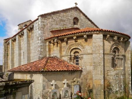 Romanesque church of Astureses in Galicia