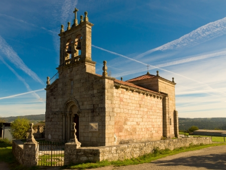 Romanesque church of Santiago de Taboada in Silleda
