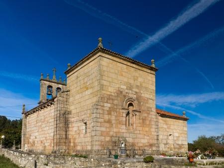 Romanesque church Santiago de Taboada in Silleda