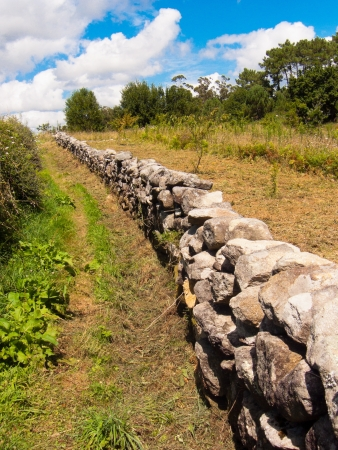 Rural wall in Galicia