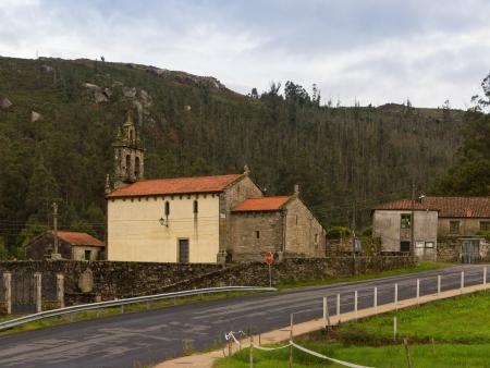 galicia: Romanesque church of Santa Maria de Figueiras