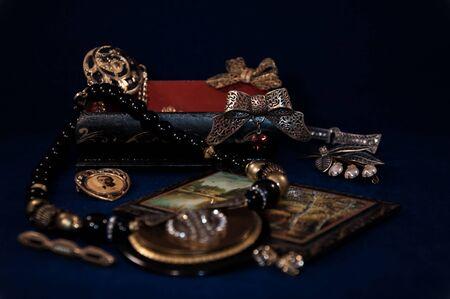 Vintage jewelry 免版税图像