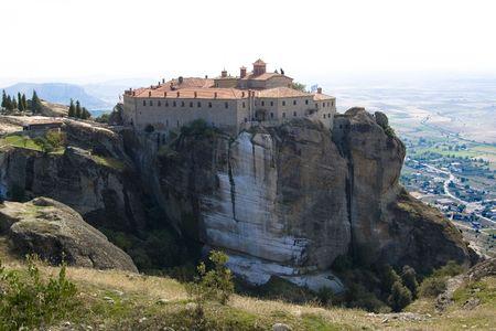 """Das Kloster """"St. Stephan"""", Meteora, Griechenland"""