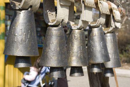 Nizza Glocken für den Verkauf in einer Zeile