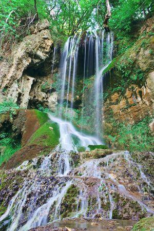 Nice Waterfall at Krushuna Eco Trail, Krushuna, Bulgaria