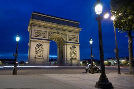 winning location: Arc de Triomphe at Place Charles de Gaulle, Paris, France