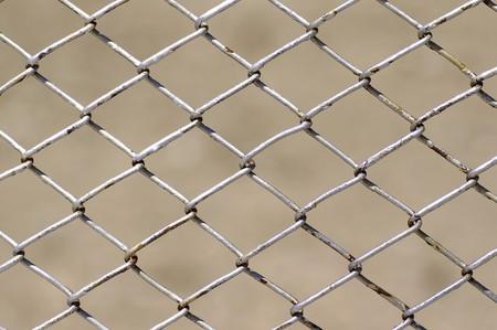 Zaun auf defocused Hintergrund  Standard-Bild