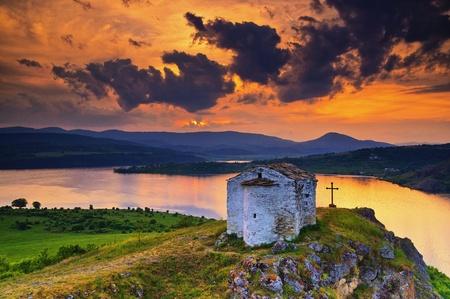 bulgaria: Saint Joan Letni chapel, Bulgaria Stock Photo