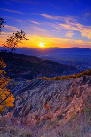 Stob Pyramiden in Rila-Gebirge, Bulgarien