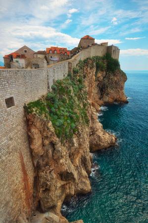 Dubrovink city wall, Croatia