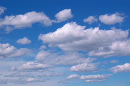 Clouds with blue sky Standard-Bild