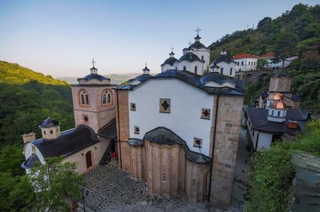 Medieval building in Monastery St. Joachim of Osogovo, Kriva Palanka, Republic of Macedonia
