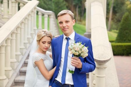femme romantique: mari�e mari� c�lin
