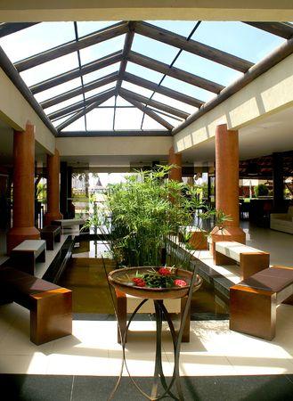 Airy Hotel Lobby