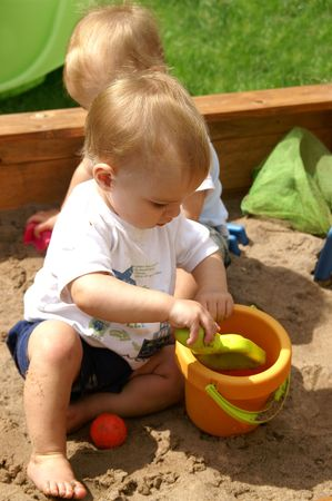 sandpit playtime