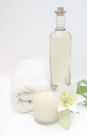 High Key Massage Spa Stock Photo